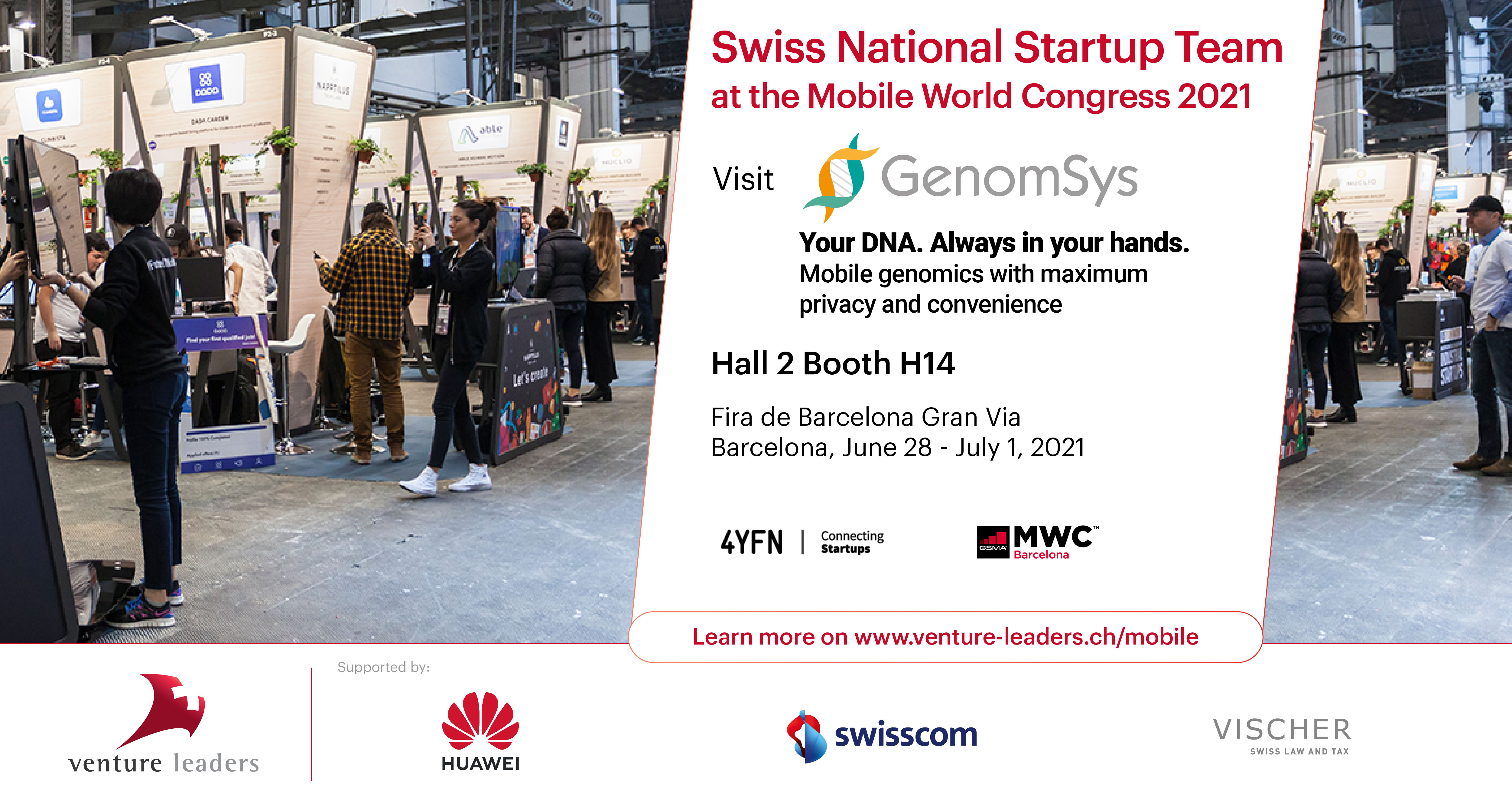 Meet us at the Mobile World Congress